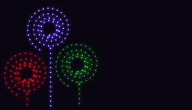 抽象螺旋光 库存图片
