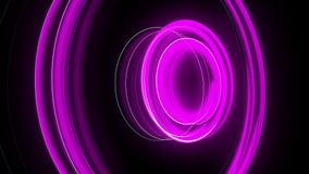 抽象螺旋转动的焕发线,计算机生成的背景,回报背景的3D 向量例证