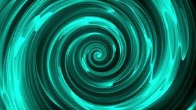 抽象螺旋转动的线,计算机生成,3D回报背景 向量例证