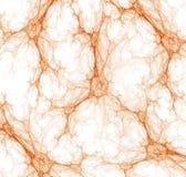 抽象血丝plexuses 库存例证
