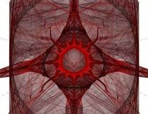 抽象血液下落 图库摄影