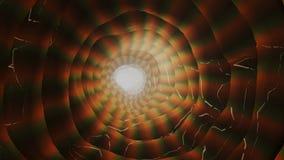 抽象行动背景、光亮的光和能量波浪,能无缝的圈 库存例证