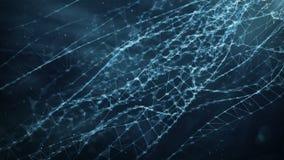 抽象行动背景-数字式任意数字结节数据网