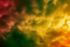 抽象行动颜色背景,计算机生成的作用 免版税库存图片