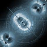 抽象行星表面 向量例证