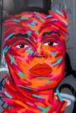 抽象街道画面孔 免版税图库摄影