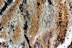 抽象衣服饰物之小金属片背景 安置文本 蓝蓝 免版税库存图片