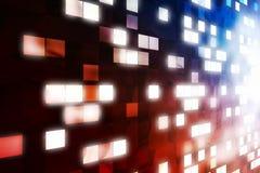 抽象表单光视窗 免版税库存照片