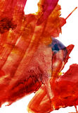 抽象表现主义绘画 免版税库存图片