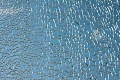 抽象被中断的玻璃 免版税图库摄影