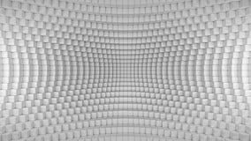 抽象被变形的箱子背景 皇族释放例证