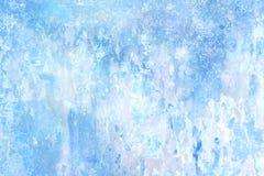 抽象被构造的背景蓝色柔和的淡色彩 免版税库存图片