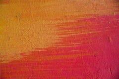 抽象被绘的混凝土墙 免版税图库摄影