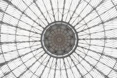 抽象装饰圆顶玻璃 库存图片