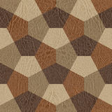 抽象装饰块-无缝的背景-皮革textu 库存照片