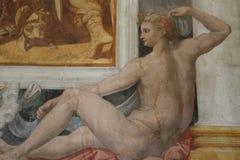 抽象装饰花几何绘画模式 皇族释放例证