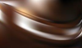 抽象褐巧克力色背景 免版税库存图片