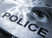 抽象警察 免版税库存照片