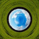抽象计算机环境图象绿化行星保护小的主题 免版税库存照片