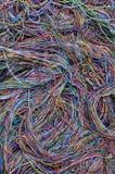 抽象计算机网络连接 免版税库存图片