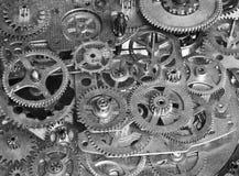 抽象设备 一个机械设备的风格化拼贴画 免版税库存照片