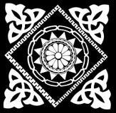抽象设计传统白色 皇族释放例证