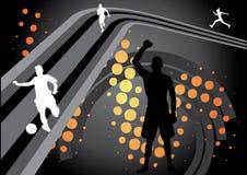 抽象设计体育运动 库存例证