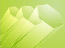 抽象设计几何六角形 库存照片