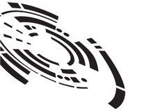 抽象设计徽标 向量例证