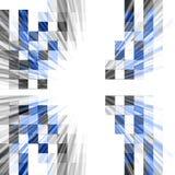 抽象设计技术 库存照片