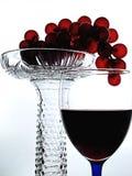 抽象设计玻璃器皿酒 免版税库存照片