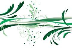 抽象设计绿色 免版税库存照片