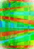 抽象超现实主义艺术性的绿色背景 免版税库存图片