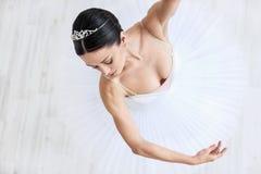 抽象跳舞例证公司妇女 免版税图库摄影