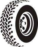抽象轮胎 向量例证