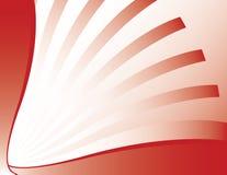 抽象辐形红色白色 库存照片
