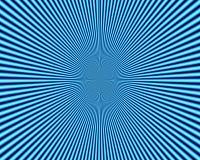 抽象辐形蓝色形式,背景 免版税库存照片