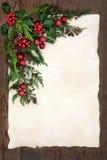 抽象边界圣诞节 免版税库存图片
