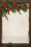 抽象边界圣诞节 免版税库存照片