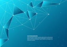 抽象连接的题材背景 免版税图库摄影