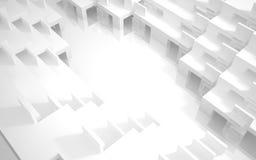 抽象连栋房屋 免版税库存图片