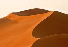 抽象迪拜沙丘 图库摄影