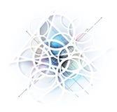 抽象迷离冰技术企业背景 免版税图库摄影