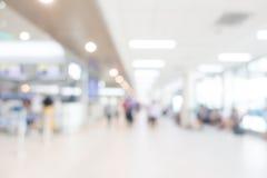 抽象迷离机场 免版税库存图片