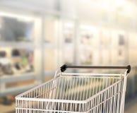 抽象迷离购物市场背景 库存图片