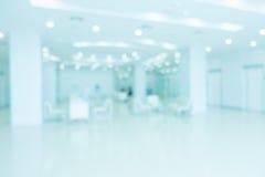 抽象迷离医院和诊所内部 免版税库存照片