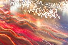 抽象速度光 库存照片