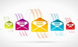 抽象邮件 库存图片