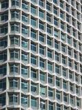 抽象部分半射击了摩天大楼 免版税库存图片
