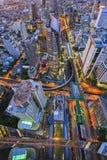 抽象都市风景 免版税库存图片